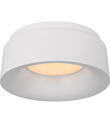 Visual Comfort BBL4090WHT Barbara Barry Halo LED 6 inch White Flush Mount Ceiling Light, Petite photo