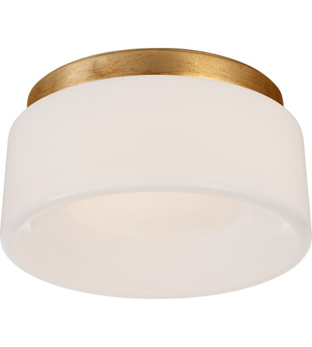 Visual Comfort BBL4092G-WG Barbara Barry Halo LED 6 inch Gild Flush Mount Ceiling Light, Petite photo