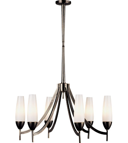 barbara barry bowmont 6 light 26 inch bronze chandelier. Black Bedroom Furniture Sets. Home Design Ideas