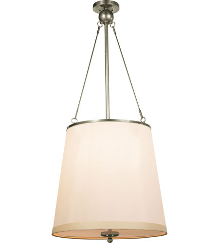 Visual Comfort BBL5023PWT-S Barbara Barry Westport 3 Light 18 inch Pewter Finish Hanging Shade Ceiling Light  sc 1 st  Visual Comfort & Visual Comfort BBL5023PWT-S Barbara Barry Westport 3 Light 18 inch ... azcodes.com