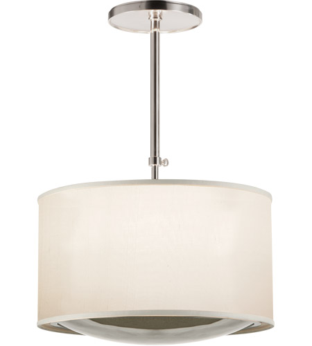 Visual Comfort BBL5025SS-S Barbara Barry Reflection 4 Light 24 inch Soft Silver Hanging Shade Ceiling Light photo