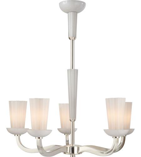 Visual comfort bbl5026ss wg barbara barry all aglow 6 light 28 inch visual comfort bbl5026ss wg barbara barry all aglow 6 light 28 inch soft silver chandelier ceiling light in white glass aloadofball Images