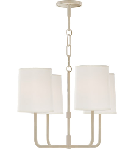 Visual Comfort BBL5080CW-S Barbara Barry Go Lightly 4 Light 20 inch China White Chandelier Ceiling Light photo