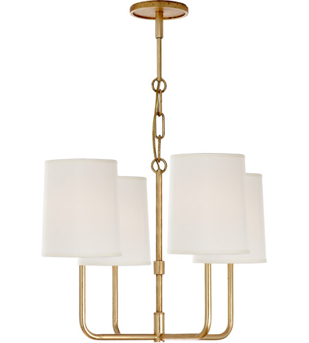 Visual Comfort BBL5080G-S Barbara Barry Go Lightly 4 Light 20 inch Gild Chandelier Ceiling Light photo