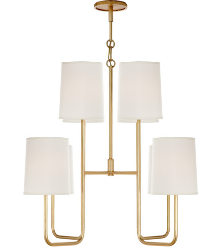 Visual Comfort BBL5081G-S Barbara Barry Go Lightly 8 Light 31 inch Gild Chandelier Ceiling Light photo