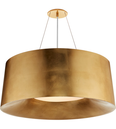 Visual Comfort BBL5090G Barbara Barry Halo 3 Light 28 inch Gild Hanging Shade Ceiling Light, Medium photo