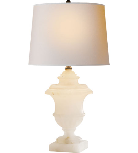 Visual comfort cha8175alb np e f chapman carved urn 26 for Natural stone lighting