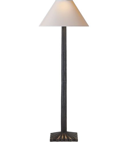 Visual Comfort CHA8463AI-NP E. F. Chapman Strie 32 inch 60 watt Aged Iron Decorative Table Lamp Portable Light photo