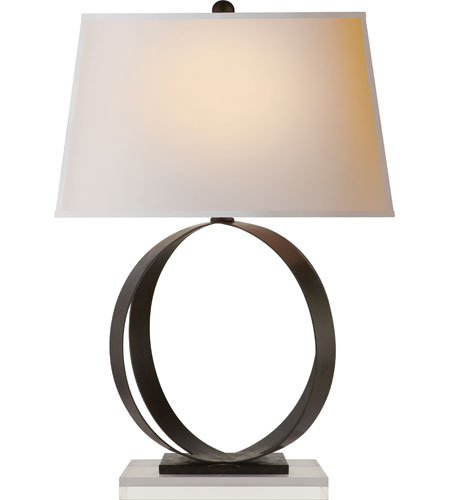 Visual comfort cha8531ai np e f chapman rings 28 inch 100 watt visual comfort cha8531ai np e f chapman rings 28 inch 100 watt aged iron with wax decorative table lamp portable light mozeypictures Gallery
