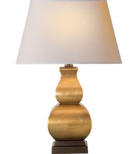 Visual Comfort Cha8628ab Np E F Chapman Fang Gourd 16 Inch 75 Watt Antique Burnished Brass