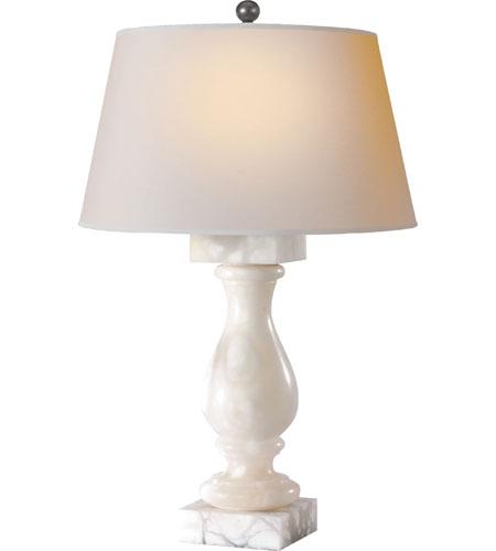 Visual comfort cha8924alb np e f chapman balustrade 27 for Natural stone lighting