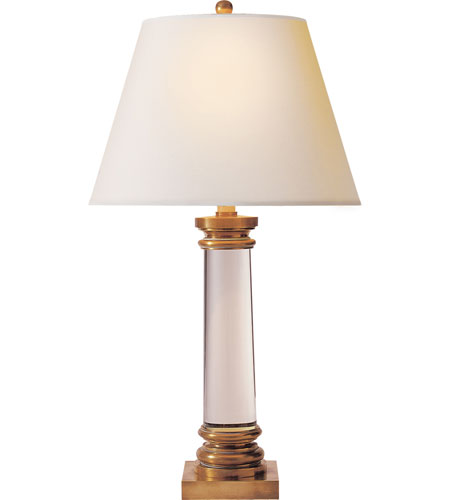 Visual Comfort CHA8925AB-NP E.F. Chapman Classic 32 inch 100 watt Antique-Burnished Brass Decorative Table Lamp Portable Light in Antique Burnished Brass  photo