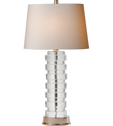 Visual comfort cha8934cg np e f chapman oval stacked 34 inch 100 visual comfort cha8934cg np e f chapman oval stacked 34 inch 100 watt crystal decorative table lamp portable light aloadofball Images