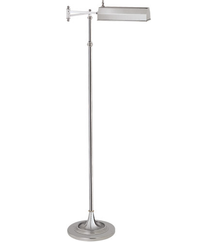 Visual Comfort CHA9107PN E. F. Chapman Dorchester 37 inch 40 watt Polished Nickel Swing-Arm Floor Lamp Portable Light photo