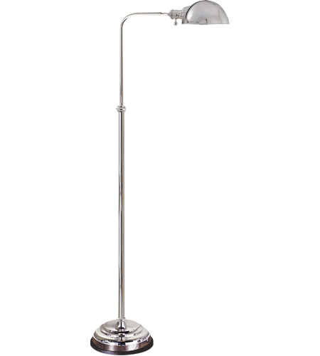 Exceptional Visual Comfort CHA9161PN E. F. Chapman Apothecary 40 Inch 60 Watt Polished  Nickel Task Floor Lamp Portable Light