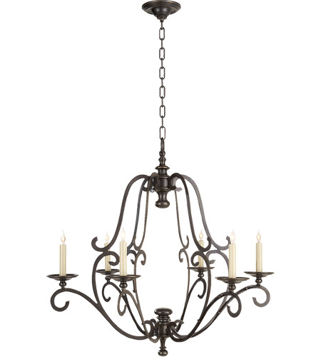 Visual Comfort Chart House Piedmont Chandelier in Bronze CHC1420BZ photo