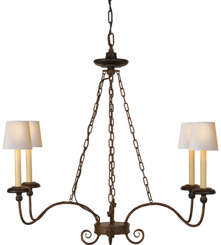 Visual Comfort Chart House Chantilly Linear Chandelier In