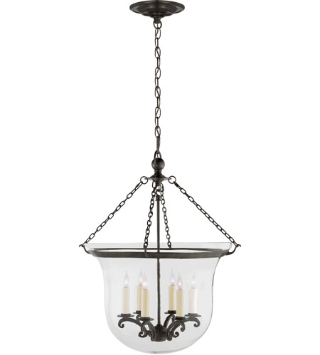 Visual Comfort CHC2110BZ E. F. Chapman Country 6 Light 21 inch Bronze Foyer Pendant Ceiling Light photo