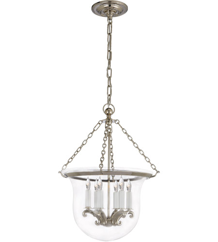 Visual Comfort CHC2117PN E. F. Chapman Country 6 Light 16 inch Polished Nickel Foyer Pendant Ceiling Light photo