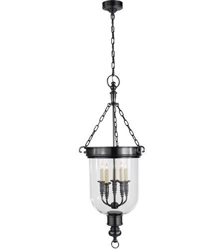 Visual Comfort CHC2126BZ E. F. Chapman Georgian 5 Light 19 inch Bronze Foyer Pendant Ceiling Light photo