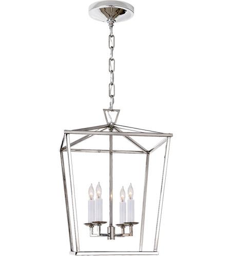 Visual Comfort Chc2164pn E F Chapman Darlana 4 Light 13 Inch Polished Nickel Foyer Lantern Ceiling Small
