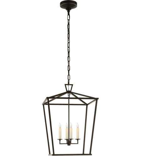 Visual Comfort CHC2165AI E. F. Chapman Darlana 4 Light 17 inch Aged Iron Foyer Lantern Ceiling Light photo