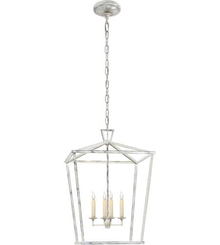 Visual Comfort CHC2165OW E. F. Chapman Darlana 4 Light 17 inch Old White Foyer Lantern Ceiling Light photo