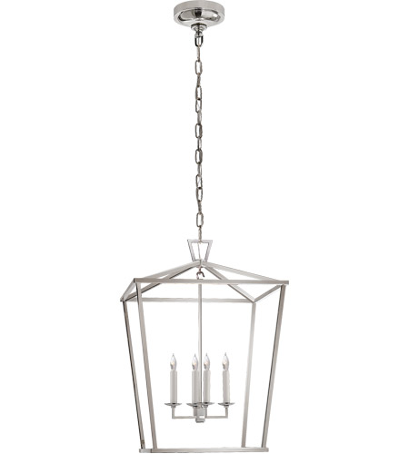 Visual Comfort CHC2165PN E. F. Chapman Darlana 4 Light 17 inch Polished Nickel Foyer Lantern Ceiling Light photo