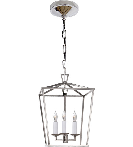 Visual Comfort CHC2175PN E. F. Chapman Darlana 3 Light 10 inch Polished Nickel Foyer Pendant Ceiling Light photo