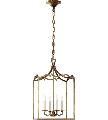 Visual Comfort CHC2180GI E. F. Chapman Darlana 4 Light 13 inch Gilded Iron Foyer Pendant Ceiling Light photo