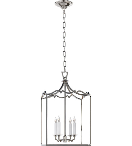 Visual Comfort CHC2180PN E. F. Chapman Darlana 4 Light 13 inch Polished Nickel Foyer Pendant Ceiling Light photo
