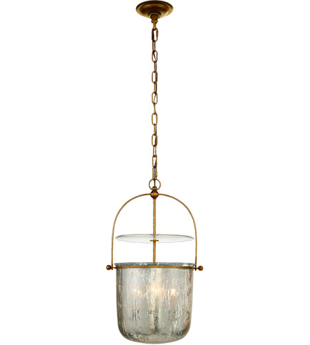 Visual Comfort CHC2269GI-MG E. F. Chapman Lorford 4 Light 14 inch Gilded Iron Bell Lantern Ceiling Light, Small photo