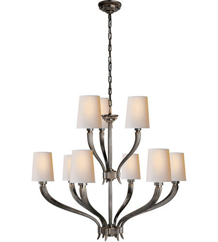 Visual Comfort CHC2465BZ-NP E. F. Chapman Ruhlmann 9 Light 35 inch Bronze Chandelier Ceiling Light photo