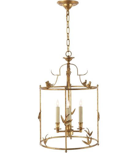 Visual Comfort CHC3108GI E. F. Chapman Diego 4 Light 16 inch Gilded Iron Foyer Pendant Ceiling Light photo