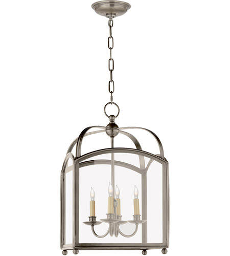 Visual Comfort Nickel Foyer Pendants