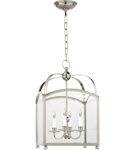 Visual Comfort CHC3421PN E. F. Chapman Arch Top 4 Light 15 inch Polished Nickel Foyer Pendant Ceiling Light photo