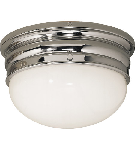 Visual Comfort CHC4202PN E. F. Chapman Crown 2 Light 12 inch Polished Nickel Flush Mount Ceiling Light photo