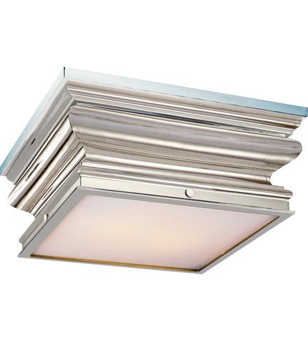 visual comfort chc4215pn e f chapman square fl 2 light 14 inch polished nickel flush mount ceiling light