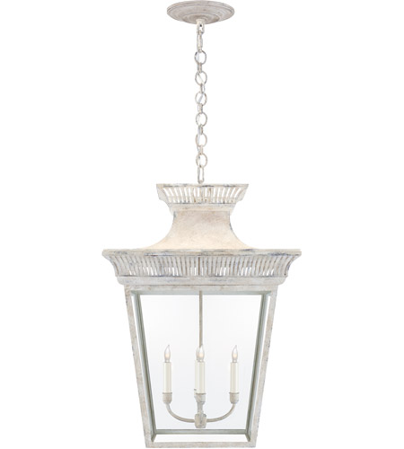 Visual Comfort CHC5052OW-CG E. F. Chapman Elsinore 4 Light 22 inch Old White Hanging Lantern Ceiling Light, Extra Large photo