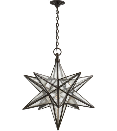 Visual comfort chc5212ai am e f chapman moravian star 1 light 30 visual comfort chc5212ai am e f chapman moravian star 1 light 30 inch aged iron pendant aloadofball