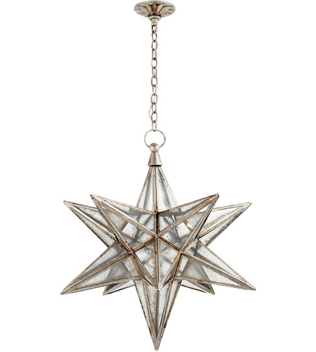 Visual Comfort CHC5212BSL-AM E. F. Chapman Moravian Star 1 Light 30 ...