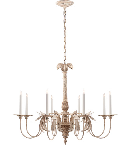 Visual Comfort Chc5440ow E F Chapman Savona 8 Light 44 Inch Old White Chandelier Ceiling Large