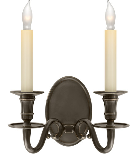 Visual Comfort CHD1139BZ E. F. Chapman Grosvenor House 2 Light 11 inch Bronze Decorative Wall Light photo