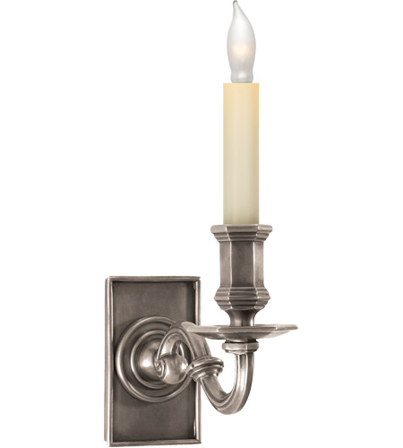Visual Comfort CHD1175AN E. F. Chapman Library 1 Light 4 inch Antique Nickel Decorative Wall Light photo