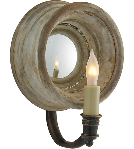 Visual Comfort E.F. Chapman Chelsea 1 Light Decorative Wall Light in Old White CHD1185OW photo