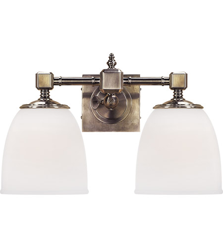 Visual Comfort CHD1532AN-FG E. F. Chapman Essex 2 Light 15 inch Antique Nickel Bath Wall Light photo