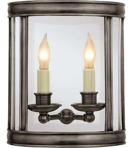 Visual Comfort CHD2000BZ E. F. Chapman Edwardian 2 Light 10 inch Bronze Wall Lantern photo