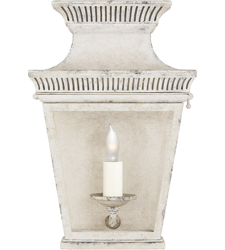 Visual Comfort CHD2945OW-CG E. F. Chapman Elsinore 1 Light 12 inch Old White Outdoor Wall Lantern, Small photo