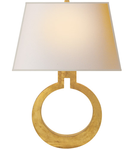 Visual Comfort CHD2970G-NP E. F. Chapman Ring 1 Light 14 inch Gilded Finish Decorative Wall Light photo