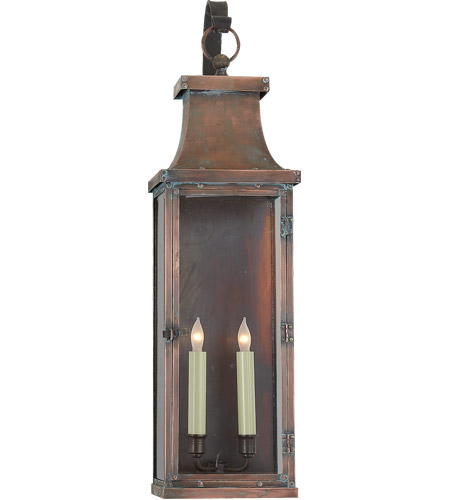 Visual comfort cho2155nc e f chapman bedford 2 light 29 inch visual comfort cho2155nc e f chapman bedford 2 light 29 inch natural copper outdoor wall lantern photo mozeypictures Gallery